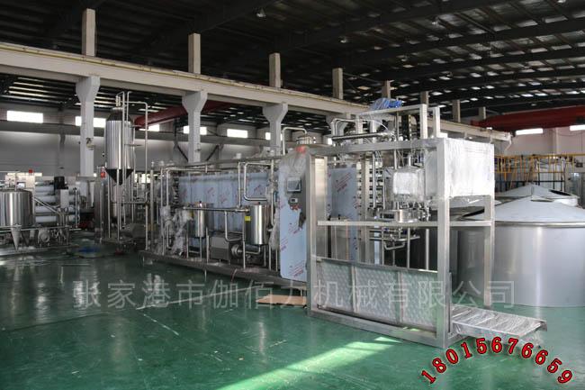 芒果汁饮料生产设备 小瓶果汁灌装流水线