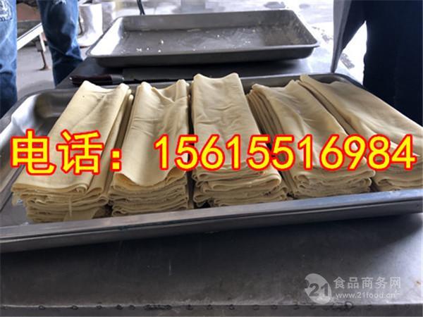鄭州大型豆腐皮機生産線的加工生産流程?豆腐皮機多少錢?