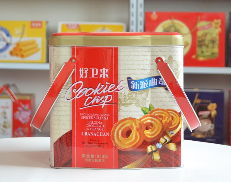 饼干礼盒铁盒_曲奇礼盒