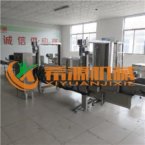 促销全自动香酥脆皮薄脆油炸机器 xy-6000型