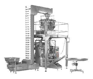 山东蒜头自动落料称重立式包装机 电子自动称重立式包装机械