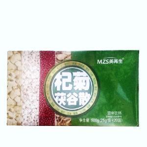 美再生 杞菊茯谷散 代餐粉 25克/袋 x 20袋/盒 固体饮料代工