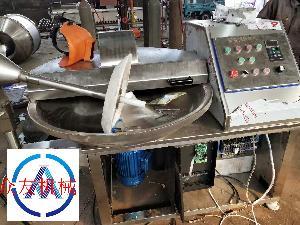 智能型高速自動出料的斬拌機80型肉餡斬拌機