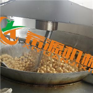 燃气式面筋球油炸锅 面筋油炸设备 冷油发泡