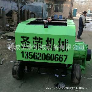 安徽自动捡拾打捆机小型收割机