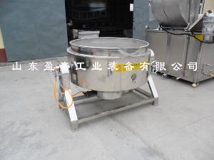 盈嘉多功能纯不锈钢夹层锅