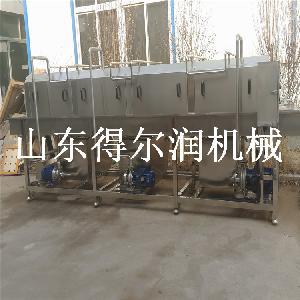 食品配送筐清洗消毒流水线设备 操作简单 环保