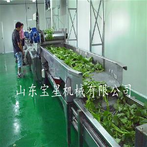 土豆条油炸速冻生产线机器设备