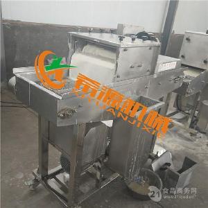 网带传送式猪排裹浆机设备