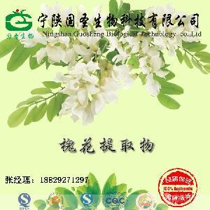 槐花提取物10:1  保健食品原料  SCC厂家  国圣生物
