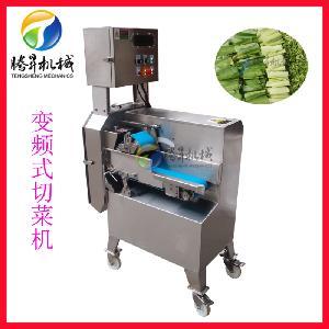 优质不锈钢切菜机 可拆输送带果蔬切菜机