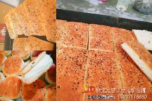 侧重实践-老北京香酥芝麻面包饼加盟的用面配方选材严格