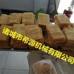 天津小型薄脆饼煎饼脆皮油炸机设备