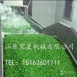 青豆速冻机用什么样的好--宝星牌超低温流态化速冻机
