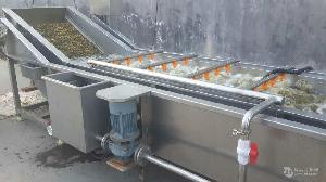 鼓浪型气泡清洗机  果蔬清洗设备