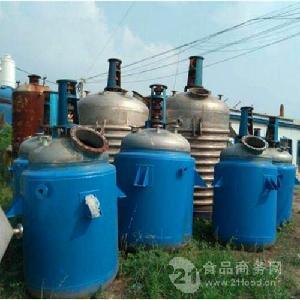 大量回收二手搪瓷反应釜