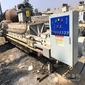 二手普通厢式压滤机回收