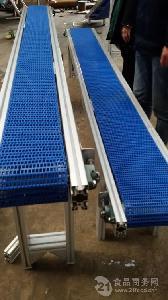 爬坡散料輸送機帶防塵罩 流水線定制