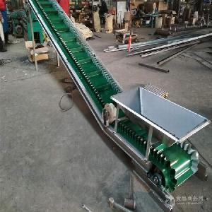不锈钢输送带流水线电动升降 日用化工输送机