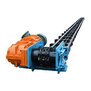 带式刮板机重型 自清式刮板输送机