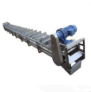 淤泥双排链刮板机加工定制 输送机
