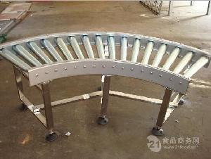 厂家定制滚筒生产输送线生产分拣 线和转弯滚筒线