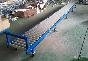 304不锈钢小型动力式滚筒输送机输送机厂家 倾斜输送滚筒