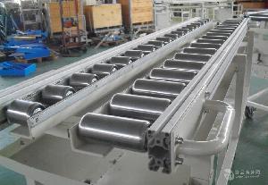 无动力直线滚筒输送机铝型材 纸箱动力辊筒输送机