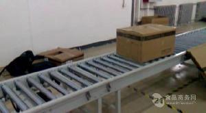 弯道滚筒输送线输送机生产分拣 纸箱动力辊筒输送机
