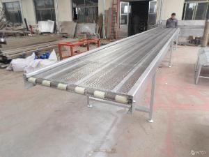 不锈钢网带输送机各种规格 提升爬坡输送