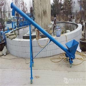直销水平式绞龙送料机 环保型定制各种型号螺旋提升机,xy1