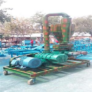 不锈钢气力输送机塑料颗粒输送 移动式长距离输送设备xy1