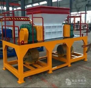 鐵皮桶角鐵破碎機 管材鐵皮粉碎機設備 多功能