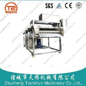 TSXM-30百香果/鸡蛋果平行毛辊清洗机