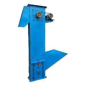 鸡粪耐腐蚀塑料斗上料机直销 化工粉料斗式提升机型号定制厂家