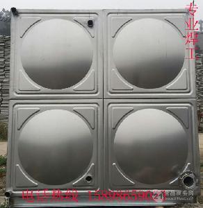 加工各種不銹鋼方形生活水箱