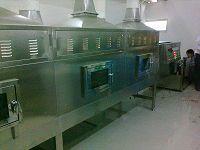 榛子烘烤開口設備