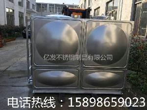 焊接組合式不銹鋼水箱山東加工定制