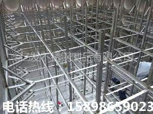 大型不锈钢水箱厂家直销 现场安装