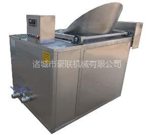 供应优质电加热型全自动薄脆油炸锅