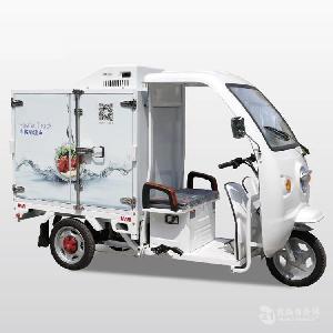 LIZE冷藏车 三轮电动冷藏车 生鲜冷藏运输车 三轮快递冷藏电动车