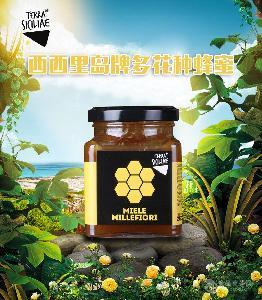 西西里岛牌多花种蜂蜜
