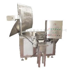 全自动电加热腐竹油炸机在哪买 行星搅拌油炸设备