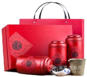 特级正山小种红茶450g礼盒装罐装