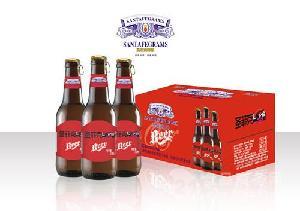 小瓶8度KTV啤酒招商代理 330毫升瓶装啤酒加盟批发