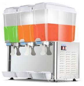 商用冷饮机双制冷三缸单冷小型自助果汁机