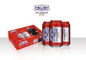 山东啤酒厂家代加工啤酒/小罐啤酒定制
