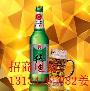 大瓶纯生风味啤酒代理/低价啤酒批发/黑龙江/哈尔滨