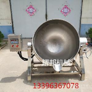 不锈钢可倾式电加热导热油夹层锅