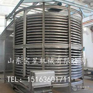 速冻调理品螺旋速冻机 占地小产量大
